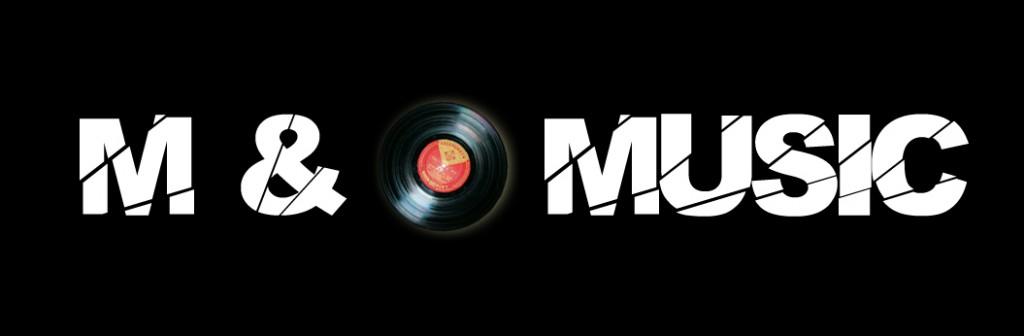 M & O Music Logo Noir